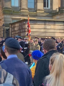 Preston Remembrance Sunday Parade